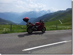 View from Col de la Madeleine
