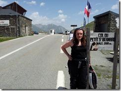 Helen @Col du Petit Saint-Bernard