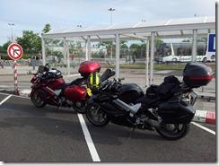 Bikes @Eurotunnel