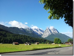 Mountains near Garmisch