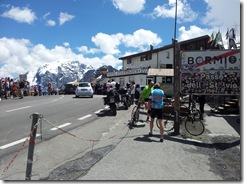 Top of Stelvio Pass