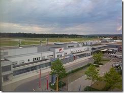 Friedrichshafen Airport from Hotel