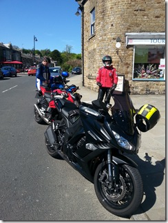 Bikes @Middleton in Teesdale