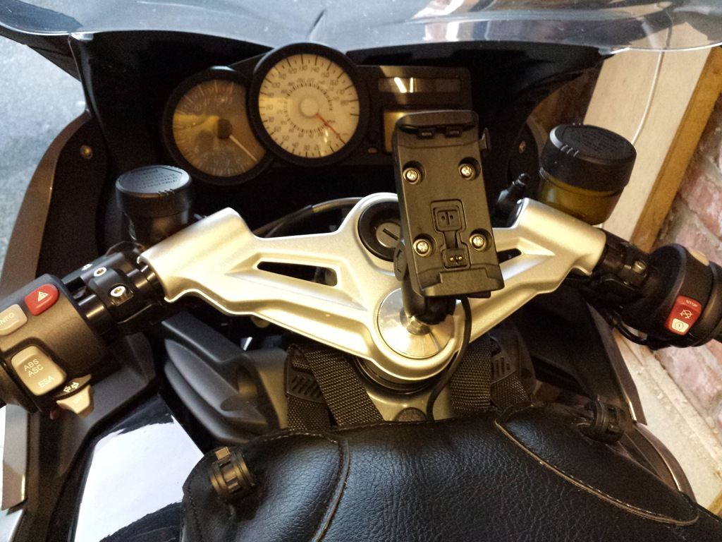 cavturbo's motorcycle blog: garmin satnav mount