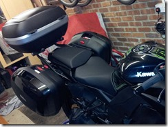 Givi Luggage fiited