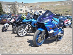 Bikes at Reeth