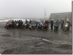Foggy Hartside Cafe