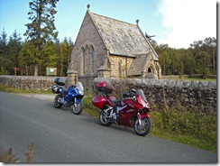 Church in Gisburn Forest