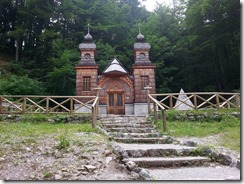 Russian Chapel on Vršič Pass