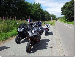 Bikes in North Wales
