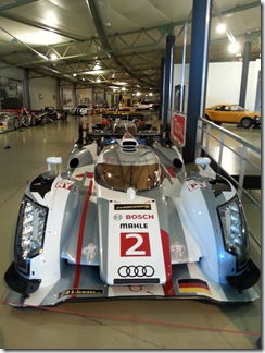 Le Mans Museum Display