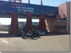 Our Bikes at Le Mans