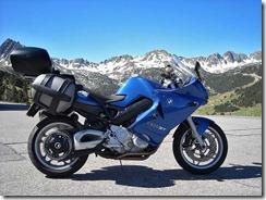Helens Bike in Andorra