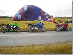 Hot Air Balloon at Ribblehead Viaduct