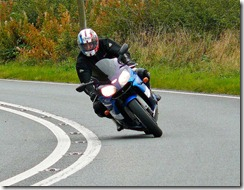Me Cornering on A483