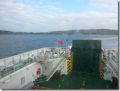 Leaving Islay