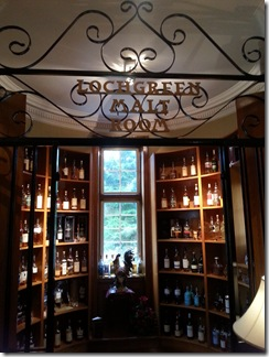 Lochgreen Hotel Malt Whisky Room