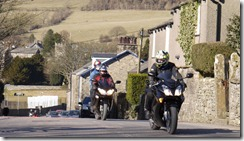 Helen in action on her new VFR