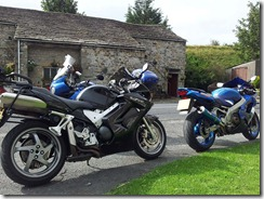 Bikes at Horton in Ribblesdale