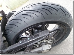 Helen's New Rear Tyre